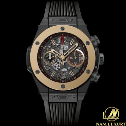 Đồng hồ Hublot Bigbang Unico Ceramic Magic Gold 45 mm – 411.CM ...