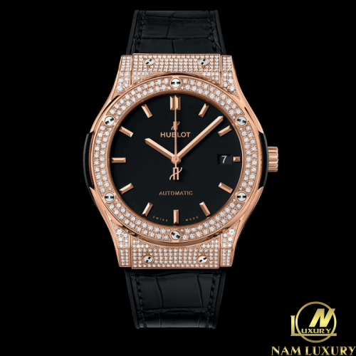 Đồng Hồ Hublot Classic Fusion King Gold Pave 42 mm – 542.OX.1181 ...