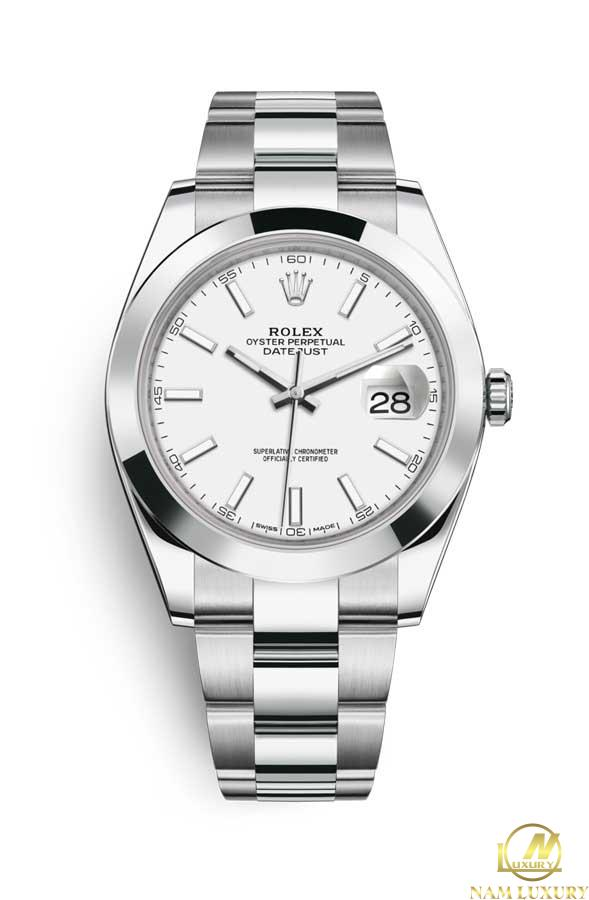 Rolex Datejust 41 mm Stainless Steel - Oyster 126300-0005 | World ...